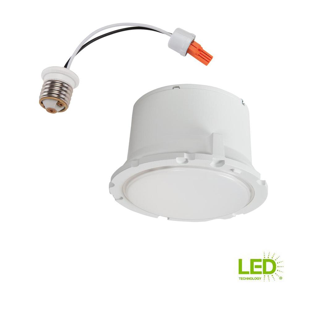 Halo 5 In And 6 In 3000k Matte White Recessed Led