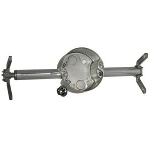 Raco Retro Brace With 4 In Round Ceiling Rated Pan 2 1 8