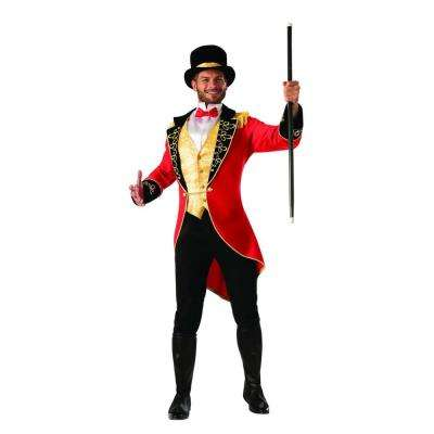 Large Mens Ringmaster Adult Halloween Costume