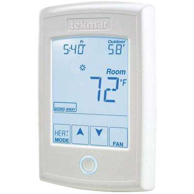 7-Day 2-Stage Heat, 1-Stage Cool and Fan Programmable Thermostat
