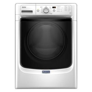 Maytag 4.3 cu. ft. High-Efficiency Front Load Washer with Steam in White, ENERGY... by Maytag