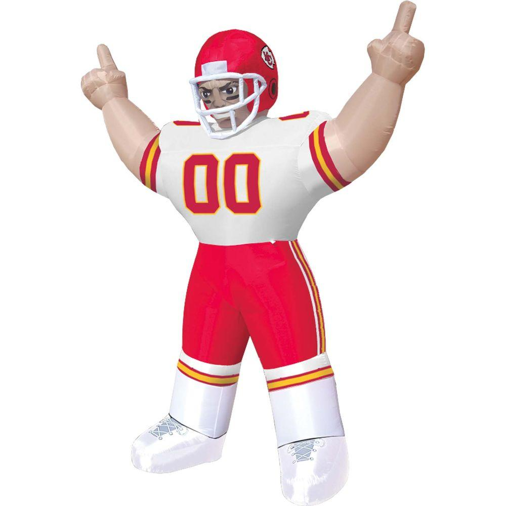null 8 ft. Inflatable NFL Kansas City Chiefs Player Tiny - $99 VALUE