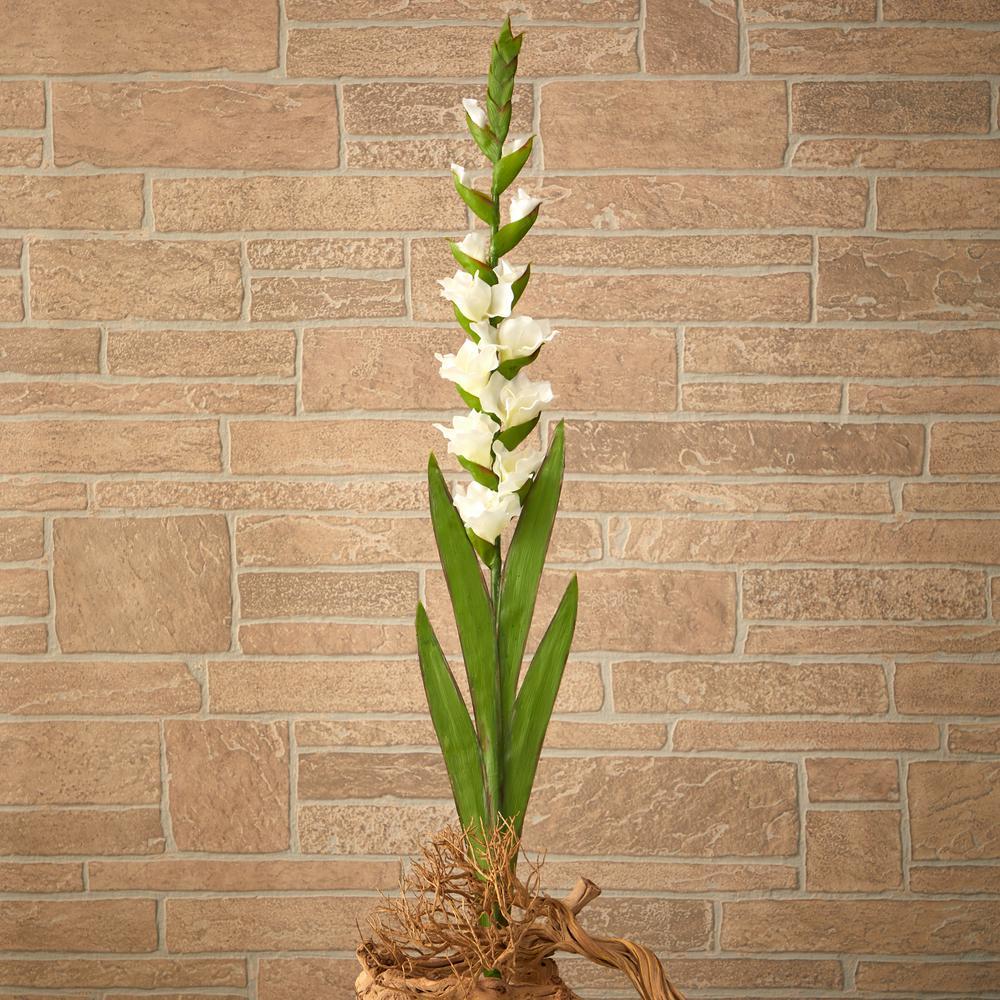46 in. Gladiolus Artificial Flower (Set of 3)