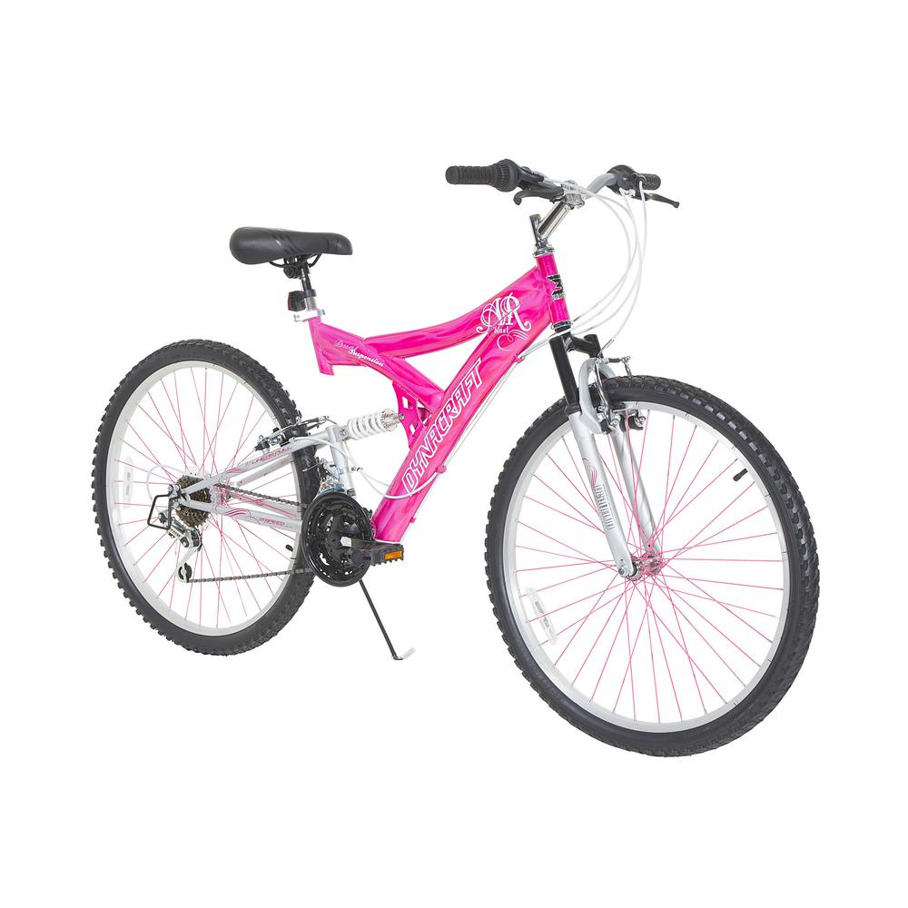 Dynacraft 26 in  Womens Air Blast Bike with Dual Suspension