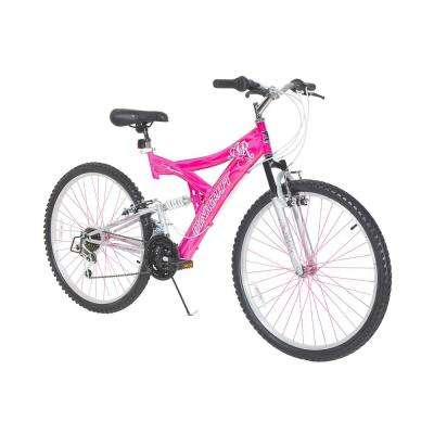 26 in. Womens Air Blast Bike with Dual Suspension