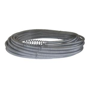Ridgid C-21 5/16 inch x 50 ft. Hollow-Core Drain Cleaning Cable with Bulb Auger by RIDGID