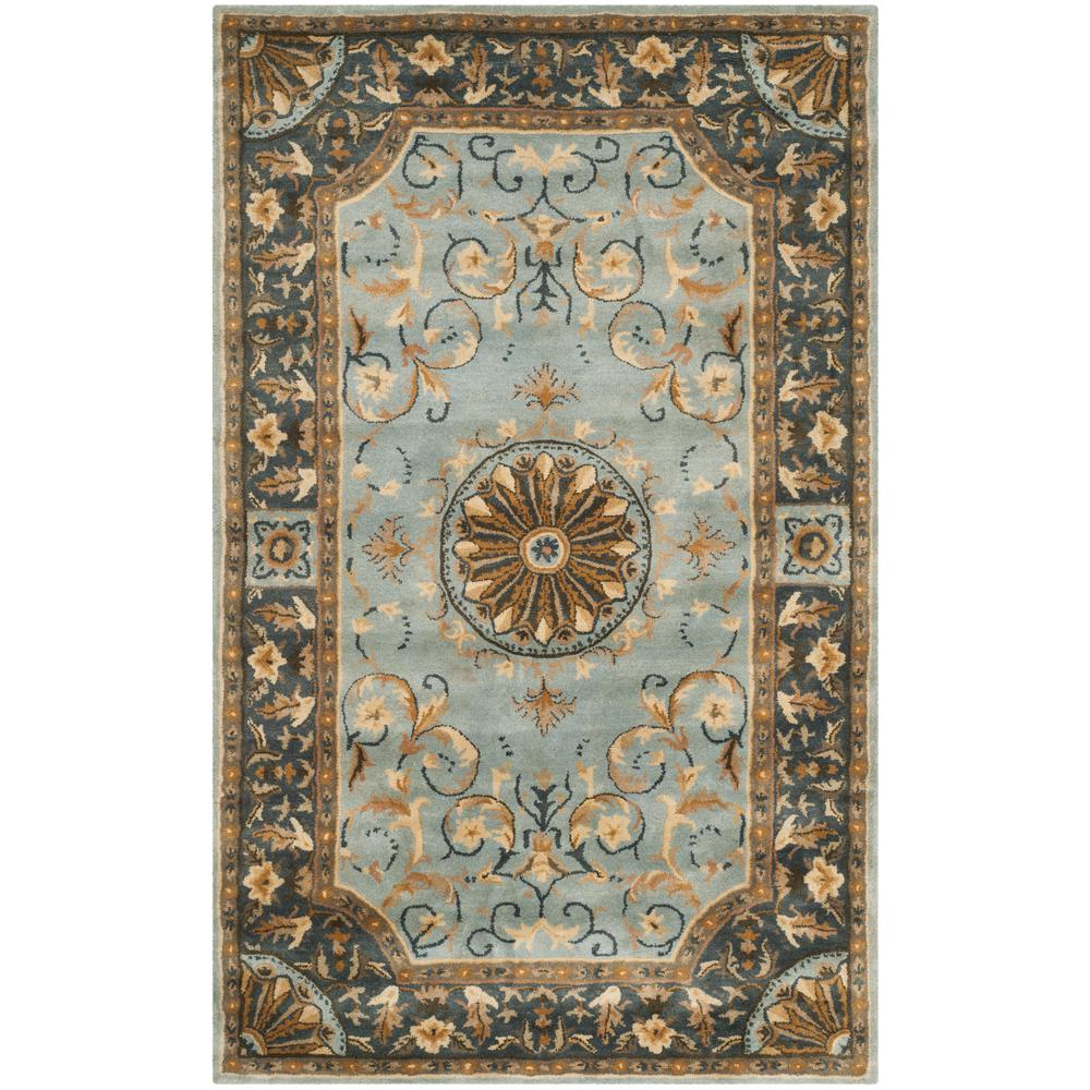 Empire Blue 4 ft. x 6 ft. Area Rug
