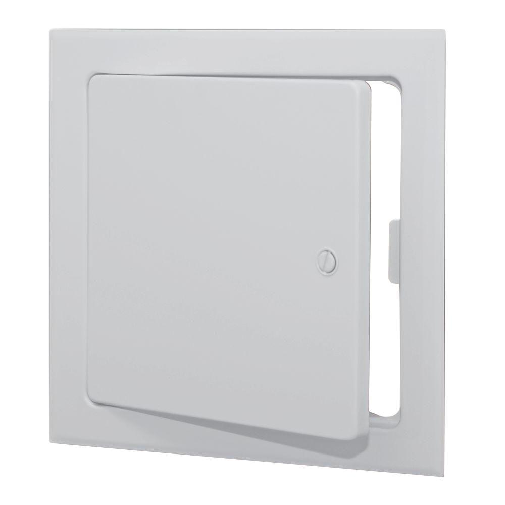 Acudor Products 12 In X 12 In Metal Wall Or Ceiling Access Panel Z91212scwh The Home Depot