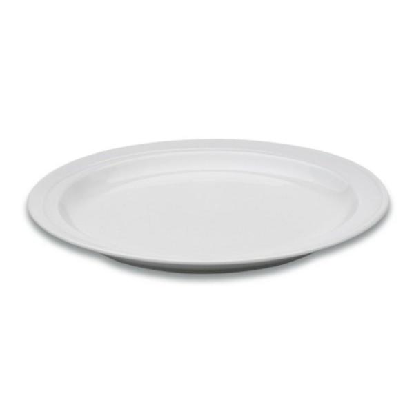 Essentials Hotel 7 in. White Porcelain Bread Plate
