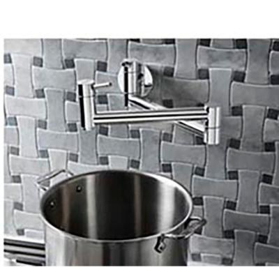 Cantata Wall Mounted Pot Filler in Polished Chrome