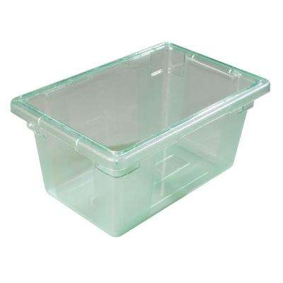 Color-Coded 5.0 gal., 12x18x9 in. Polycarbonate Food Storage Box in Green (Case of 6)