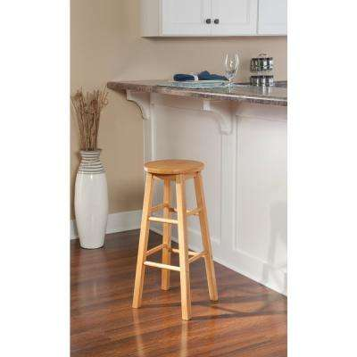 29 in. Beige Bar Stool