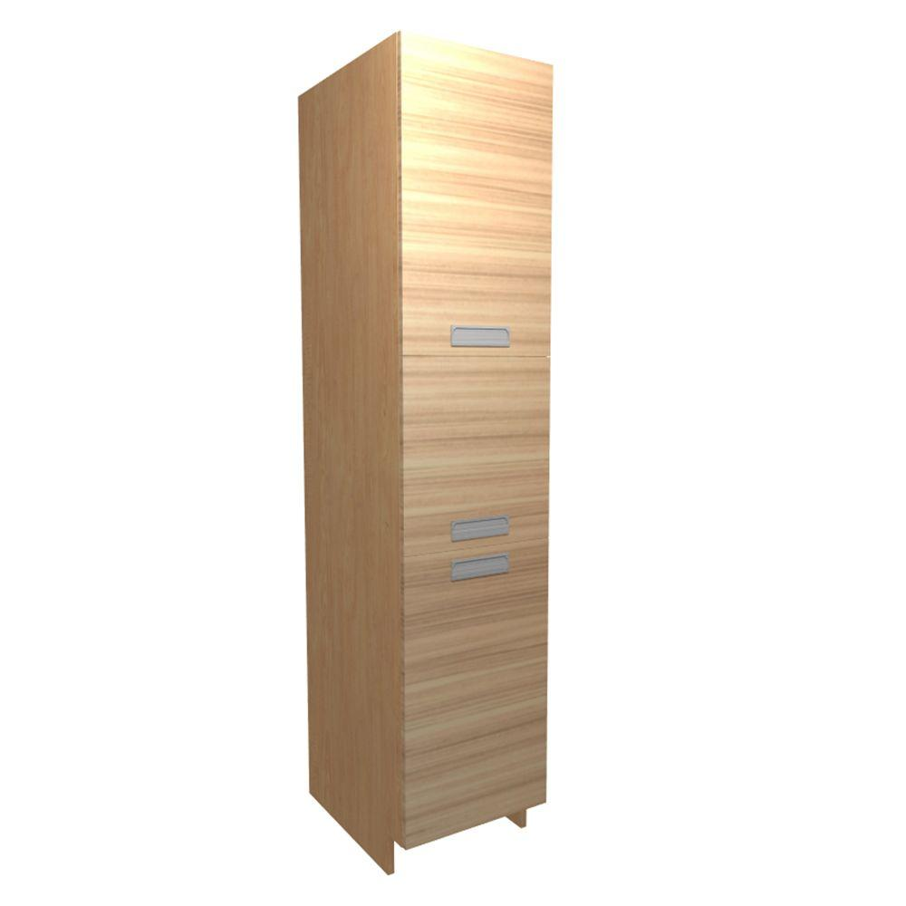 Ready To Assemble Pantry Utility Cabinet Beach Beach Textured Melamine 30 Product Photo