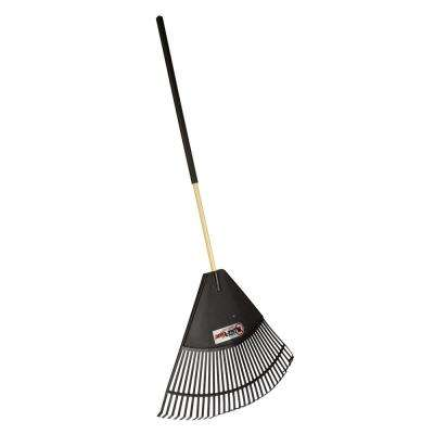 Cavex Series 32 in. Poly Leaf Rake with Large Comfort Grip