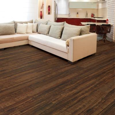 Hand Scraped Hickory Baja 12 mm Thick x 6.14 in. Wide x 50.55 in. Length Laminate Flooring (17.25 sq. ft. / case)