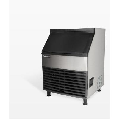 280 lb. Freestanding or Built-In Ice Maker in Stainless Steel