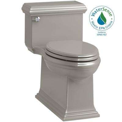 Memoirs Classic 1-Piece 1.28 GPF Single Flush Elongated Toilet in Cashmere, Seat Included