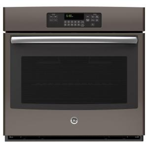 Single Electric Wall Oven Self Cleaning In Slate, Fingerprint Resistant