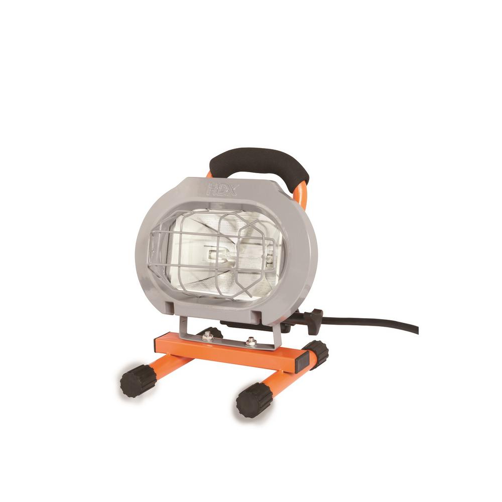 Home Depot Clamp Light: Designers Edge 250-Watt Portable