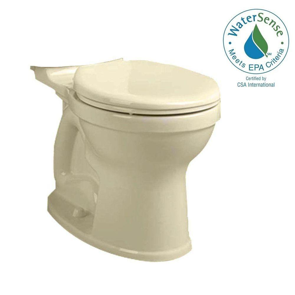 Champion 4 Tall Height Round Toilet Bowl Only in Bone