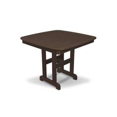Yacht Club 37 in. Vintage Lantern Patio Dining Table