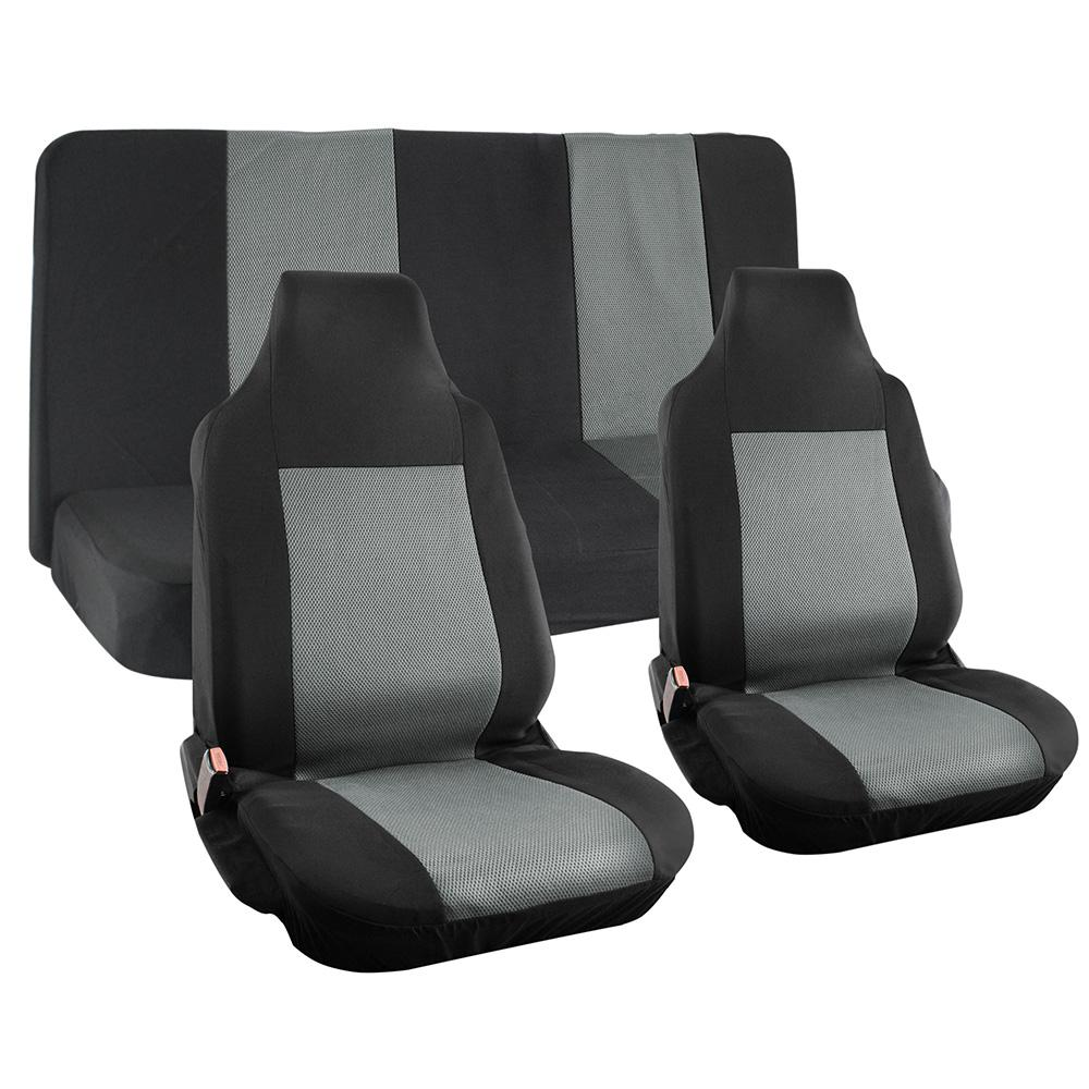 Oxgord Polyester Seat Covers Set 26 In L X 21 In W X 48