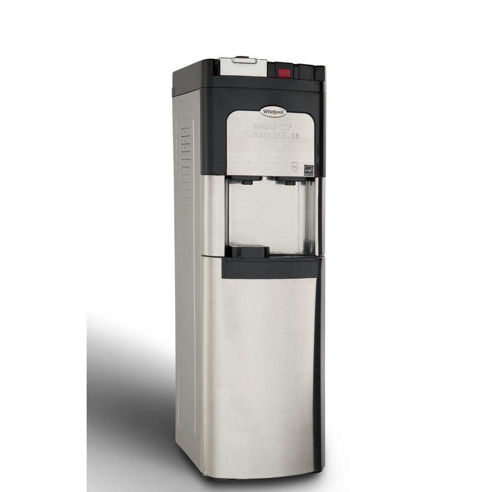 Whirlpool Single Cup Coffee Maker And Self Cleaning Water Cooler In