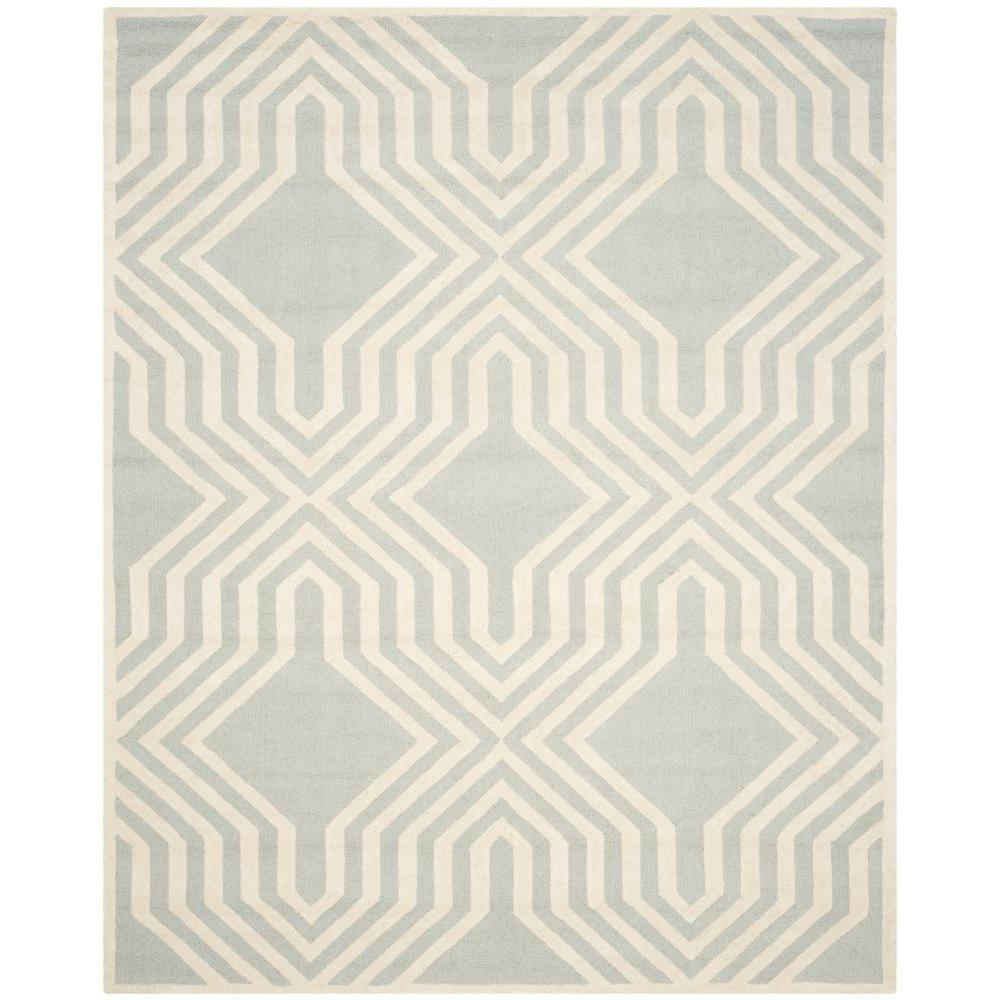 Cambridge Gray/Ivory 8 ft. x 10 ft. Area Rug