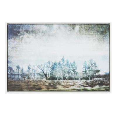 """Sylvie """"Champagne Province"""" by Golie Framed Canvas Wall Art"""