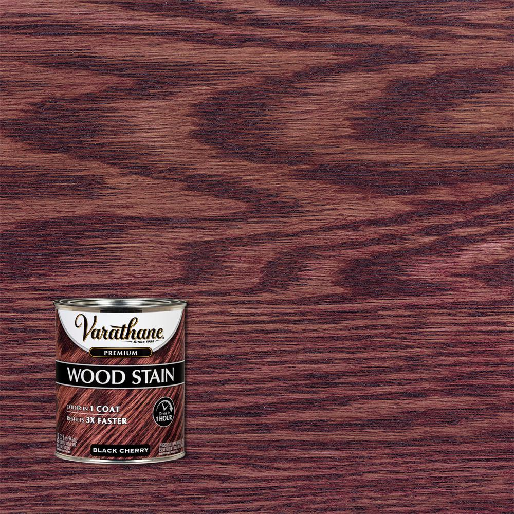 Varathane 1 qt. Black Cherry Premium Fast Dry Interior Wood Stain (2-Pack)