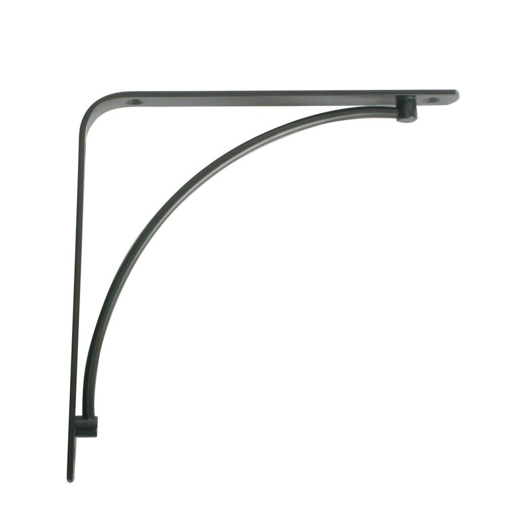 brackets shelf inch bracket asp in alt black decorative concord