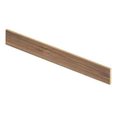 Lakeshore Pecan 47 in. Length x 1/2 in. Deep x 7-3/8 in. Height Laminate Riser to be Used with Cap A Tread