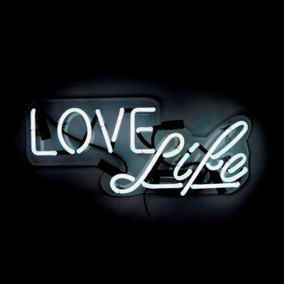 Oliver Gal 'Love Life' Plug-in Neon Lighted Sign