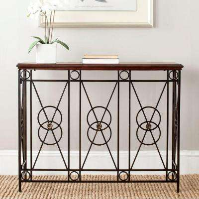 Dustin Dark Brown Console Table
