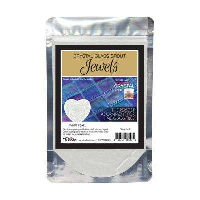 Crystal Glass Jewels White Pearl Additive