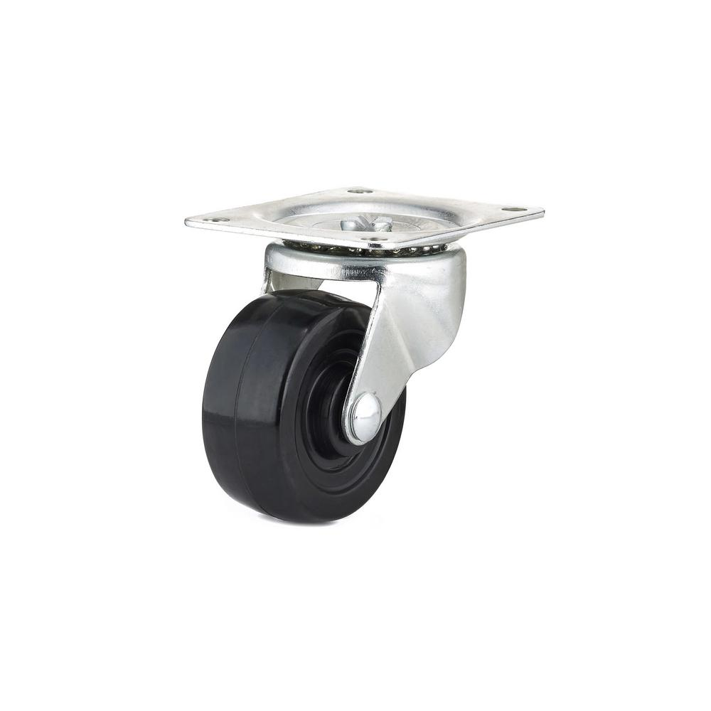 3 in. General-Duty Rubber Swivel Caster