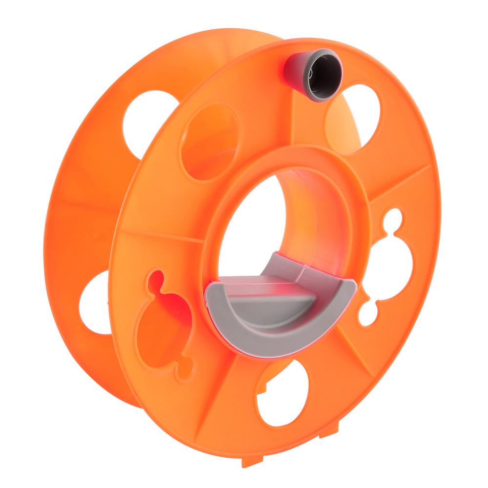 Extension Cord Reel Wheel Portable Roll Up Heavy Duty Storage With Stand 150 FT