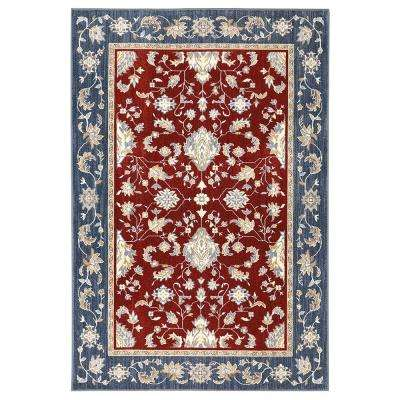 Cameron Garnet 3 ft. 5 in. x 5 ft. 2 in. Area Rug