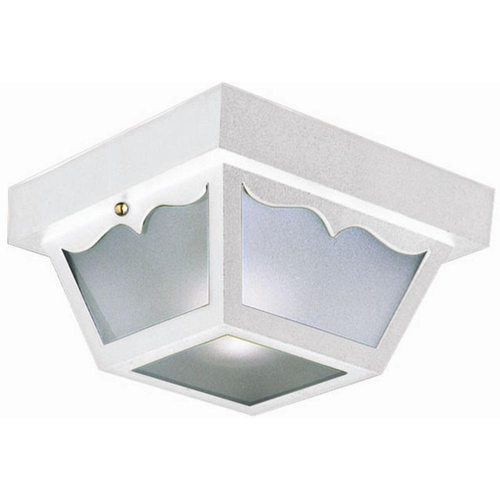 Design House White Outdoor Ceiling Light