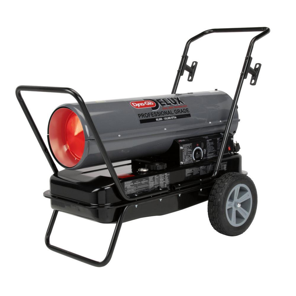 Dyna Glo Delux 95k Or 135k Btu Kerosene Forced Air Heater