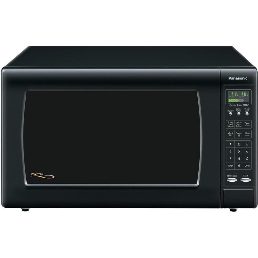 Panasonic 2.2 cu. ft. Countertop Microwave Oven in Black