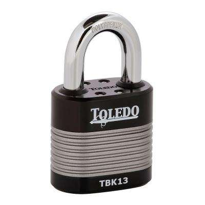 Black Series 1.96 in. High Security Armored Steel Laminated Padlock
