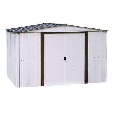 Newport 10 ft. x 12 ft. Metal Shed