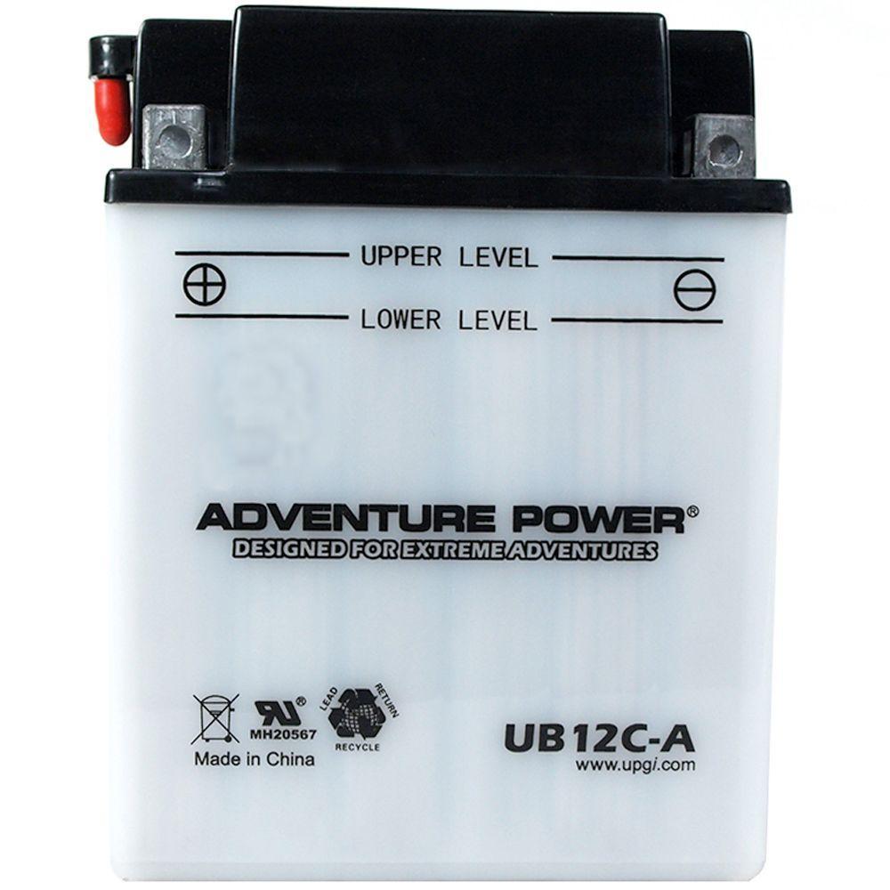 Conventional Wet Pack 12-Volt 12 Ah Capacity D Terminal Battery