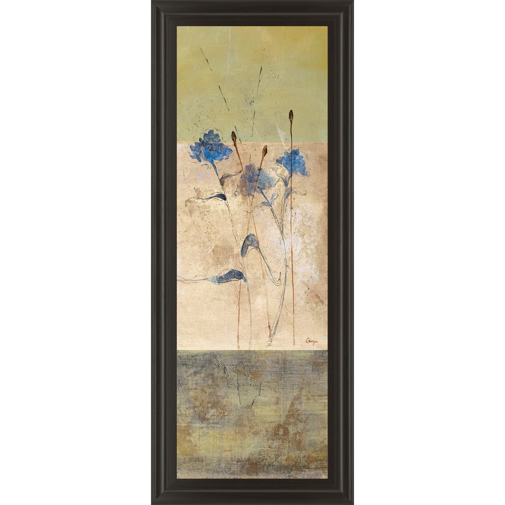 18 in. x 42 in. ''Kimono II'' by Loretta Linza Framed