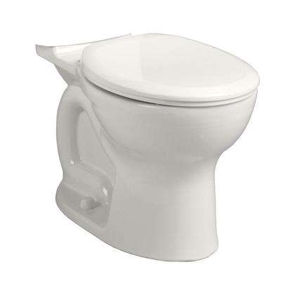 Cadet Pro 1.28 or 1.6 GPF Round Toilet Bowl Only in White