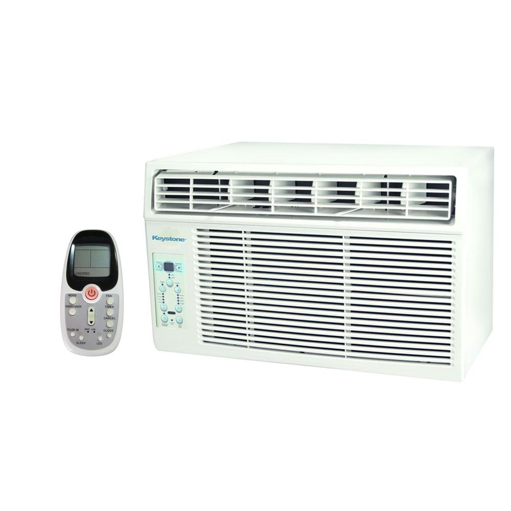10,000 btu 115-volt window-mounted air conditioner with follow me lcd remote