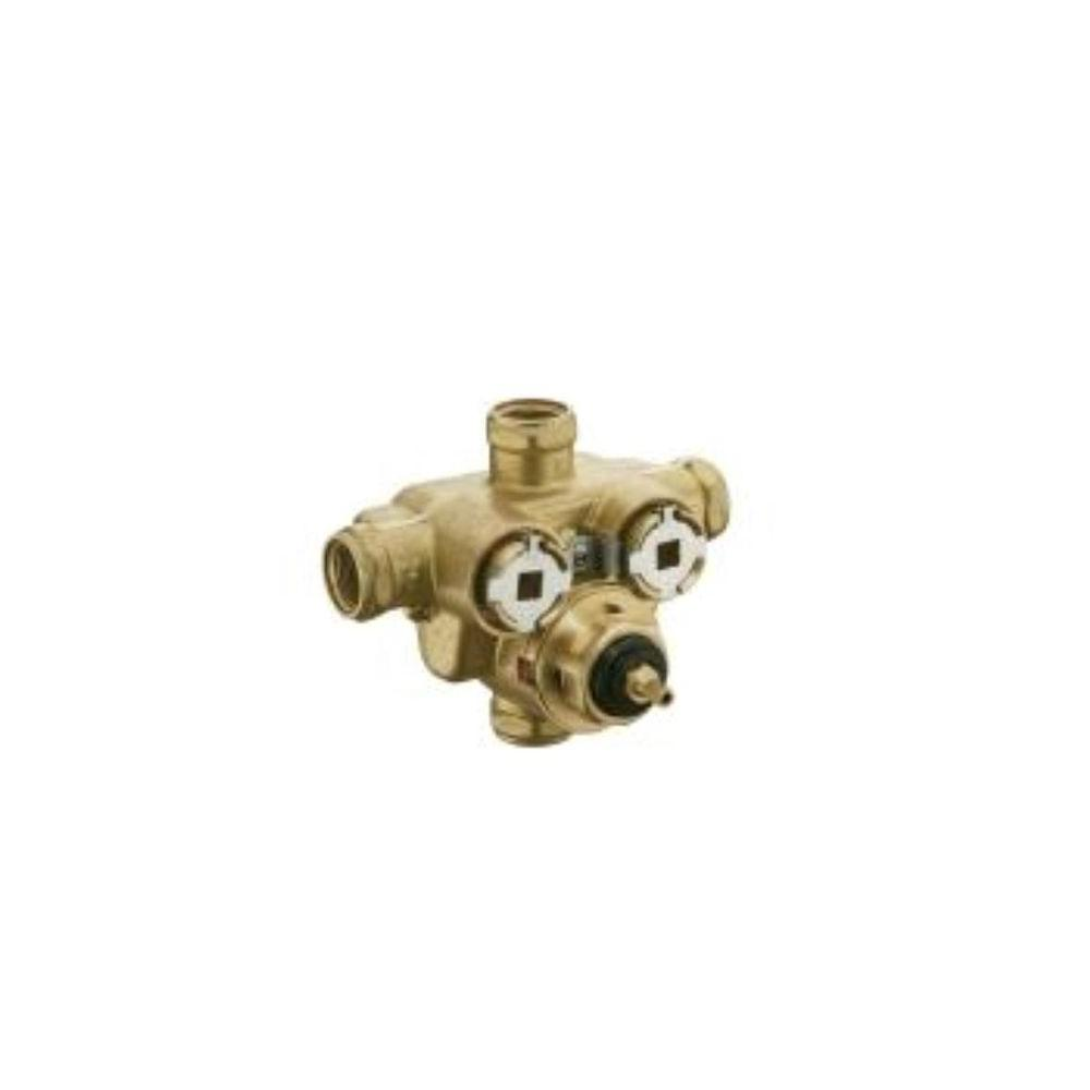 KOHLER MasterShower 1/2 in. Brass Thermostatic Valve-DISCONTINUED