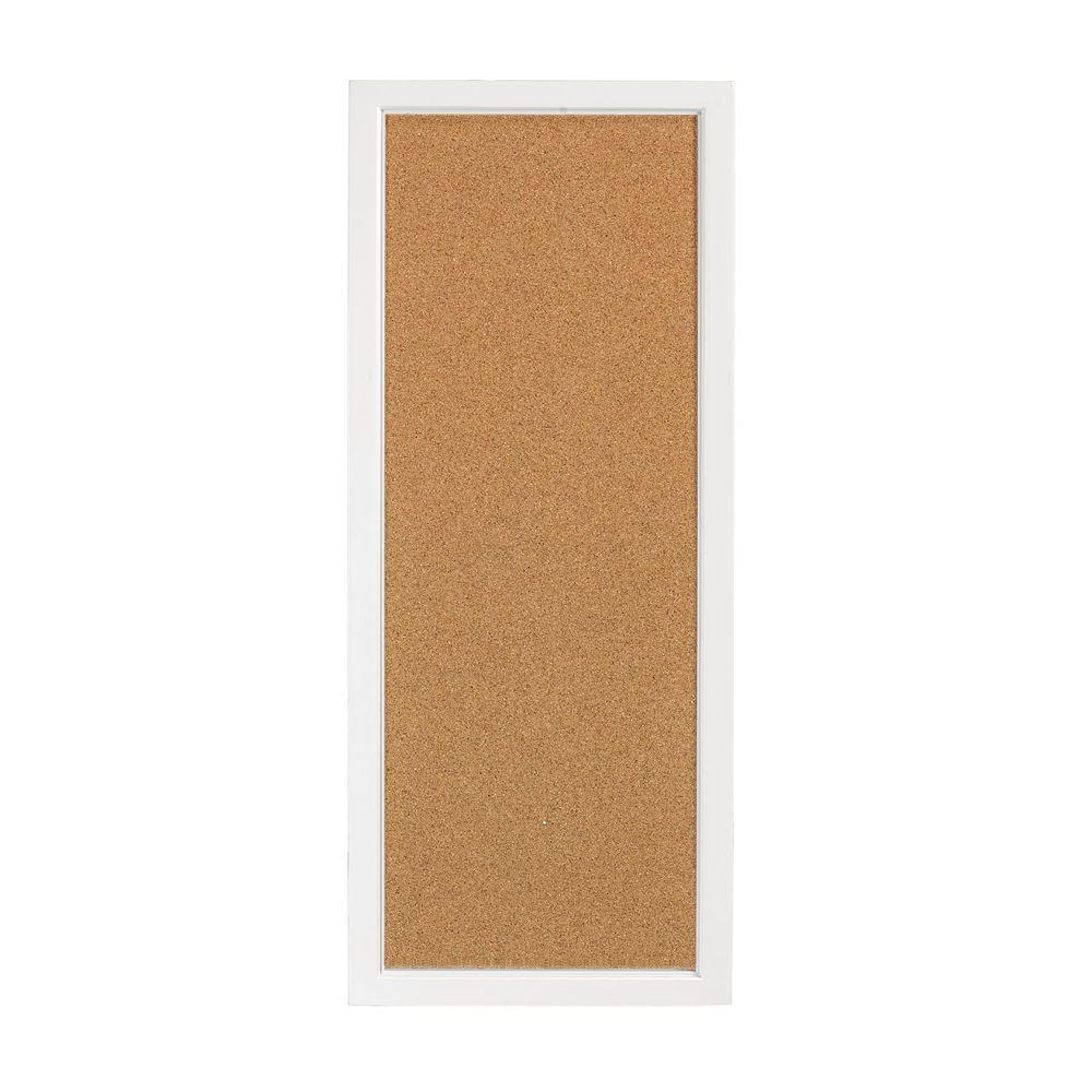 Martha Stewart Living Picket Fence White Craft Space Corkboard