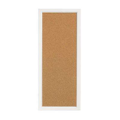 Picket Fence White Craft Space Corkboard